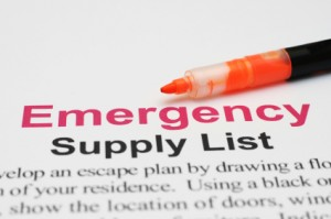 Short Term Emergency Check List