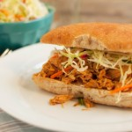 Pulled Pork Sandwiches with Southern Style Slaw