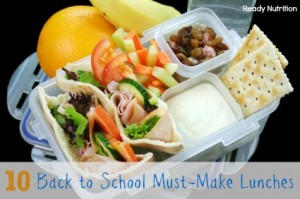10 Back to School Must-Make Lunches