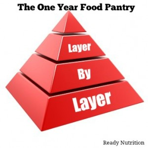 The One-Year Pantry, Layer by Layer