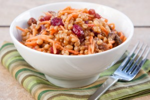 Sweet Wheat Berry Cranberry Salad