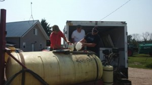 Michigan Dept of Agri Forces Farmer to Dump 248 Gallons of Organic Milk and Break 1200 Free Range Eggs