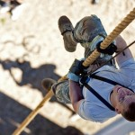 Even you can climb a rope with a Prusik knot