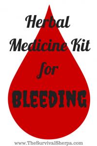 Herbal Medicine Kit: Bleeding