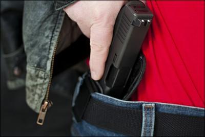 waistband gun