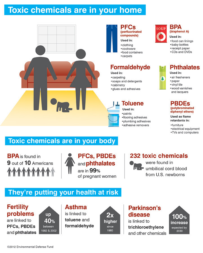 Toxic Chemicals In Your Home