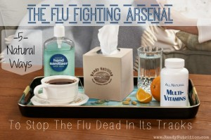 The Flu Fighting Arsenal : 5 Ways to Naturally Stop the Flu Dead In Its Tracks
