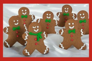 12 Days of Christmas Cookies: Gingerbread People