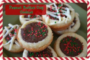 12 Days of Christmas Cookies: Peanut Butter Cup Cookies