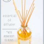 DIY: How To Naturally Make An Essential Oil Diffuser {Plus Aromatherapy Oil Blends}