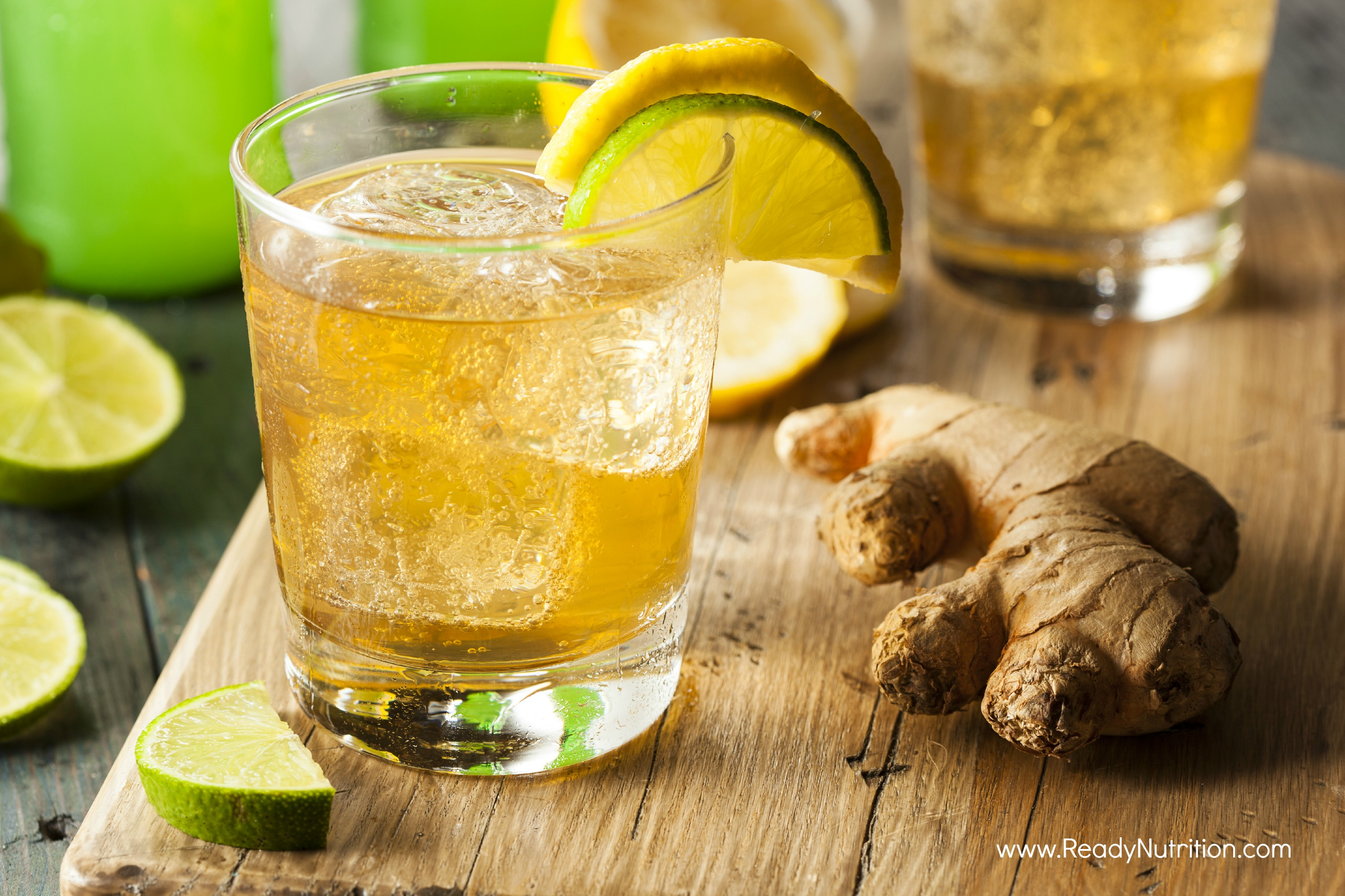 how to make all natural homemade ginger ale ready nutrition. Black Bedroom Furniture Sets. Home Design Ideas