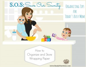 SOS: How to Organize and Store Wrapping Paper