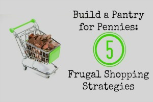 Build a Pantry for Pennies: 5 Frugal Shopping Strategies