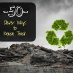 50 Clever Ways to Reuse Your Trash and Not Play into the Throw-Away Society
