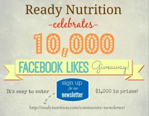 10,000 Facebook Likes Epic Giveaway