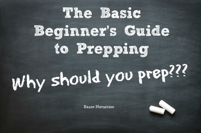 The Basic Beginner Guide to Why You Should Prep