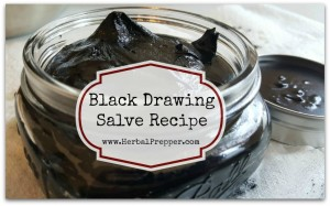 Black Drawing Salve Recipe