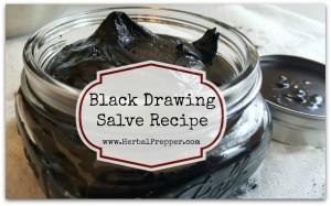 Black Drawing Salve Recipe