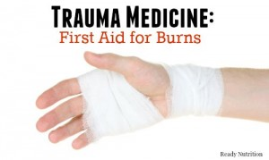 Trauma Medicine: First Aid for Burns