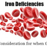 Iron Deficiencies: Dietary Consideration for when the SHTF