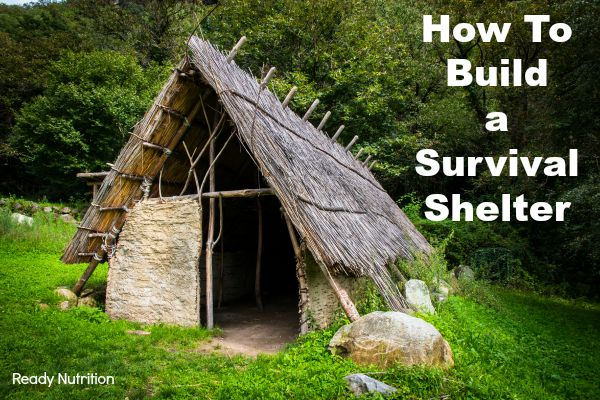 Long Term Survival Shelter : Video how to build a survival shelter your life may