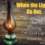 When the Lights Go Out: Tips and Tricks for Priming Off-Grid Light Sources