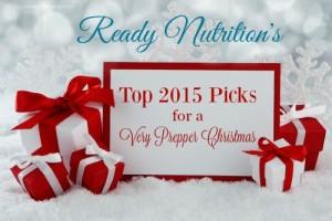 Ready Nutrition's Top 2015 Picks for a Very Prepper Christmas
