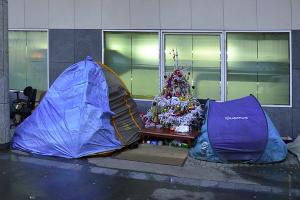 street tent wikimedia