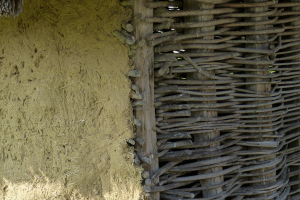 wattle and daub wikimedia