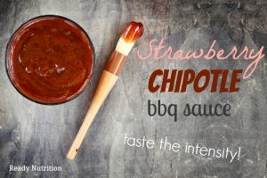 Strawberry Chipotle BBQ Sauce