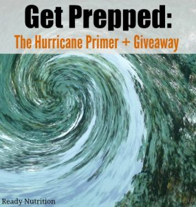 Get Prepped: The Hurricane Primer + Giveaway