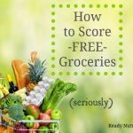 How To Score Free Groceries (Seriously)