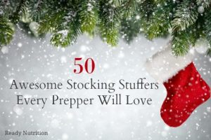 50 Awesome Stocking Stuffers Every Prepper Will Love