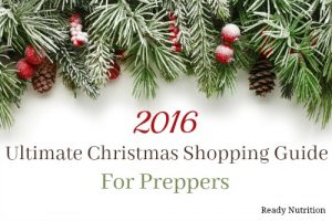 2016 Ultimate Christmas Shopping Guide For Preppers