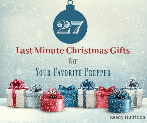 last minute prepper gifts