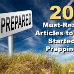 Be Prepared! 20 Must-Read Articles to Get Started Prepping