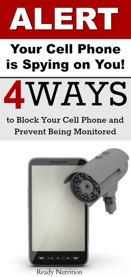 Make no mistake, you're cell phone is being monitored and there are ways to block it.