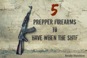 5 Prepper Firearms to Have When the SHTF