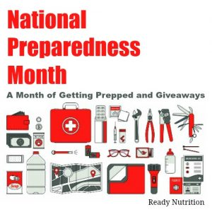 National Preparedness Month: A Month of Getting Prepped and Giveaways
