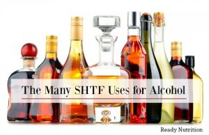 The Many SHTF Uses for Alcohol