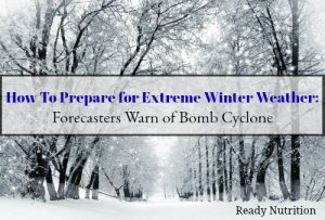 Prepare for Extreme Winter Weather: Forecasters Warn of Bomb Cyclone