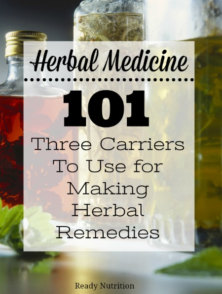There are so many ways to make health-enriching herbal formulations for health. Let's talk about basic carriers that you can use to start making time-trusted natural medicine.
