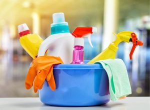 The findings of a new study suggest that commonly used household cleaners could be making children overweight by altering their gut microbiota. Here's what you need to know.