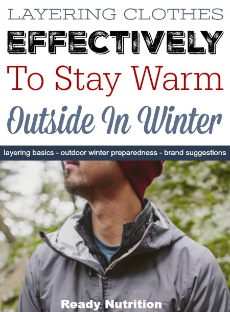 how to stay warm in winter outside