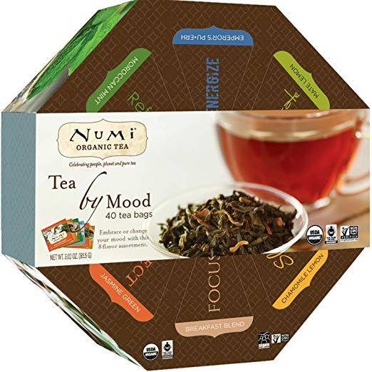 The Tea By Mood Gift Set from Numi is the perfect gift this holiday season!