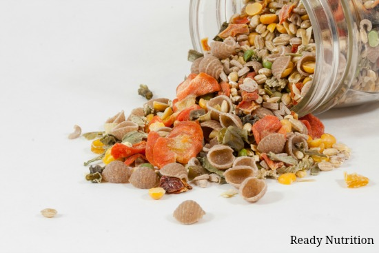 These dry soup mixes are perfect for busy week days! #ReadyNutrition #PrepperPantry