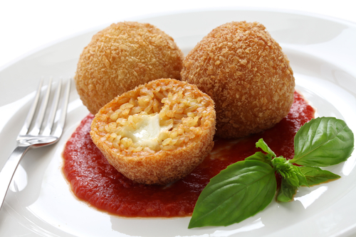 Pantry Cooking: Italian Rice Balls