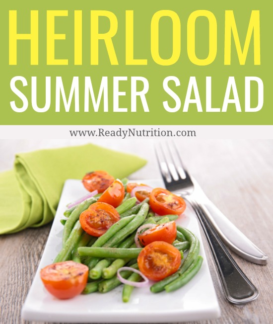 This is my favorite salad recipe for the summer. All of the flavors meld into just right textures and flavors that make summer oh-so-delicious.  #ReadyNutrition