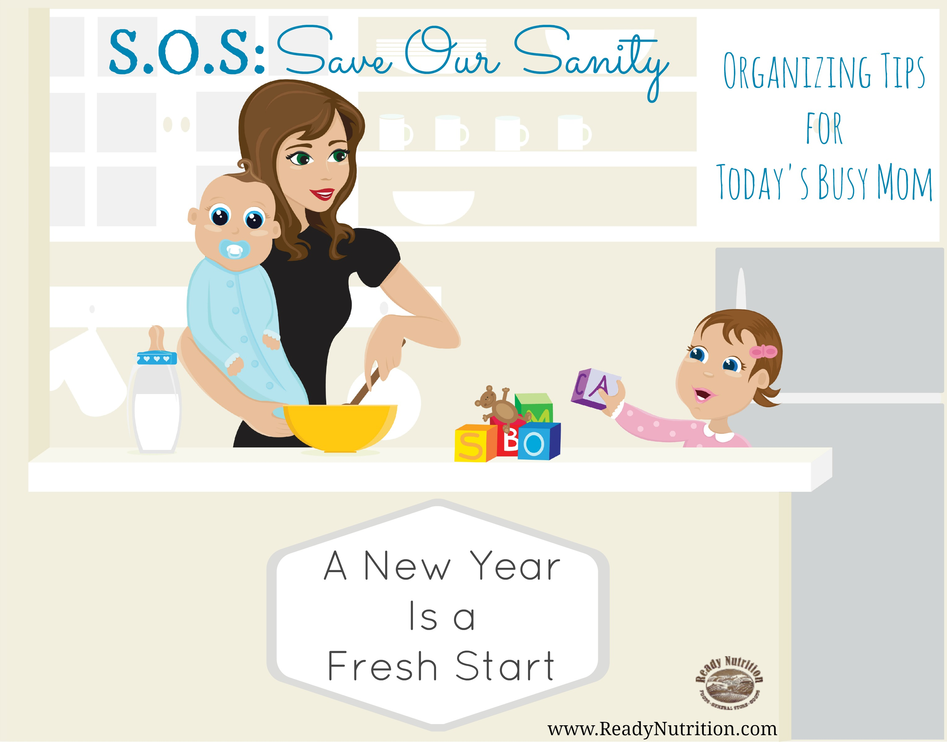 SOS: Save Our Sanity: A New Year Is a Fresh Start