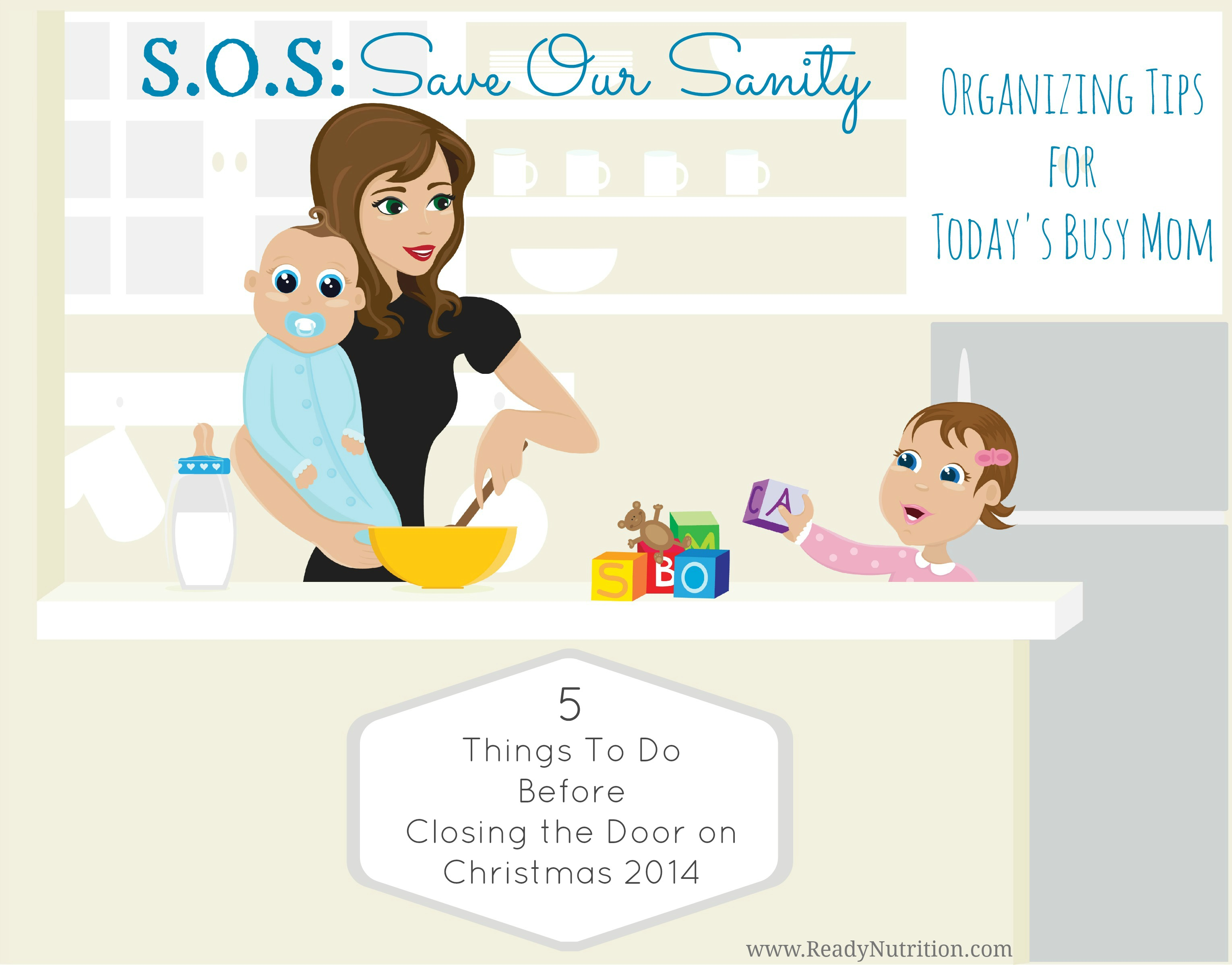 S.O.S. Save Our Sanity: Five Things To Do Before Closing the Door on Christmas 2014